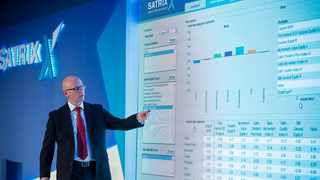 Satrix chief investment officer Kingsley Williams uses the Satrix Factor Tool to show how portfolio construction can be revolutionised and made extremely transparent.      Photo: Supplied