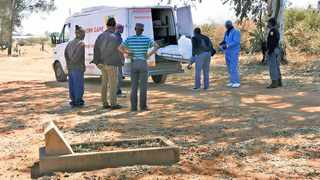 Thabang Tau committed suicide in the West End Cemetery. Picture: Michelle Cahill/Diamond Fields Advertiser