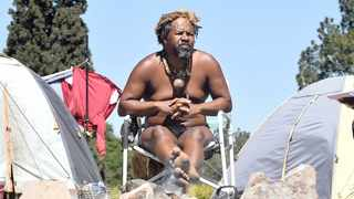 Chief Khoisan SA has been leading the group camping at Union Buildings since last year, demanding to speak to President Cyril Ramaphosa.     Thobile Mathonsi African News Agency (ANA)