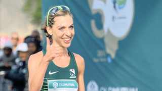 Gerda Steyn is hoping for a good showing at the New York Marathon. Photo: BackpagePix