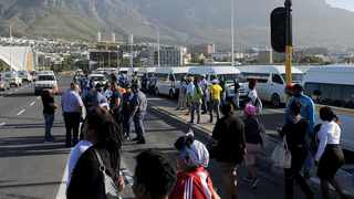 On Friday afternoon, minibus taxis caused traffic havoc in the CBD and on the N2 and M5, blocking traffic. Photo: African News Agency (ANA)