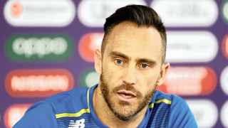Faf du Plessis  has some ideas of how to improve cricket in South Africa. Photo: Jason Cairnduff/Photo
