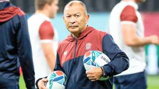 Rassie Erasmus says he isn't playing mind games with Eddie Jones ahead of the Rugby World Cup final. Photo: EPA