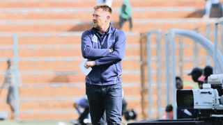 Eric Tinkler has got a knack of winning in the cup. Photo: Sydney Mahlangu/BackpagePix