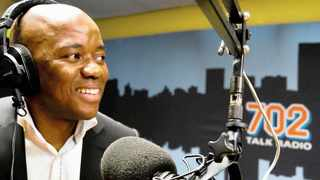 Xolani Gwala on 702's afternoon drive time slot in 2013.     Supplied