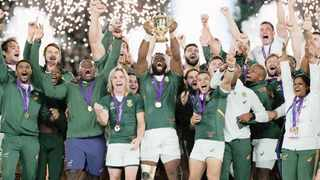 The RWC Final was the Boks' finest and most clinical performance in the last two years under Erasmus. Photo: EPA