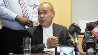 Western Cape National Prosecuting Authority's Director of Public Prosecutions, advocate Rodney de Kock, briefs the media about the investigation. Picture: Ayanda Ndamane