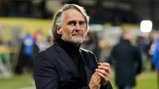 The club's new head coach Olde Riekerink watched City play from the stands this week. Photo: Ryan Wilkisky/BackpagePix