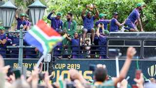 Durban residents turned out in force waving their flags to welcome their heroes earlier this week. Picture Leon Lestrade/African News Agency(ANA).
