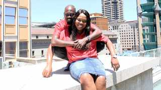 Hector Mkansi and Nonhlanhla Soldaat, the celebrity couple whose proposal at a fried chicken outlet recently went viral. Picture: Dimpho Maja/African News Agency (ANA)