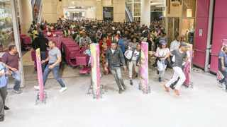 EAGER shoppers rushed in after a retailer opened its doors on Black Friday last year. With the economy under strain, many consumers are pursuing bargains at any cost - without exercising much discretion.     Leon Lestrade African News Agency (ANA)
