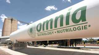 Omnia, which operates three segments – agriculture, mining and chemical – says its agricultural division is facing some headwinds as a result of a drought. Photo: Supplied