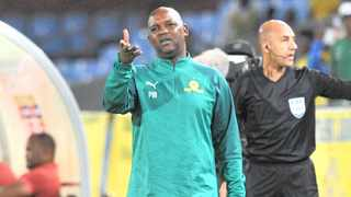 Pitso Mosimane has a score to settle with Wydad Casablanca who have have broken Mamelodi Sundowns' hearts several times. Photo: Sydney Mahlangu/ BackpagePix