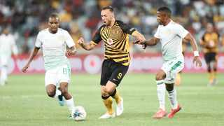 Samir Nurkovic shone with a hat-trick as Kaizer Chiefs beat Bloemfontein Celtic in Durban. Photo: Howard Cleland/BackpagePix
