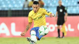 Mamelodi Sundowns star Gaston Sirino was found guilty of assaulting two SuperSport United players. Photo: BackpagePix