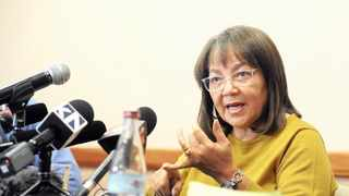 Public Works and Infrastructure Minister Patricia de Lille. Picture: David Ritchie/African News Agency/ANA