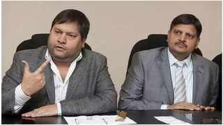 Ajay and Atul Gupta. The country's major banks closed the Gupta family's accounts in 2016. Ettiene Retief of the SA Institute of Professional Accountants says the decision was driven by the banks' need to manage risk. File picture: African News Agency (ANA)