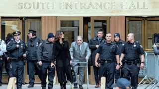 US film producer Harvey Weinstein arrives for his trial at the New York criminal court with his attorney Donna Rotunno this week. File picture: Eduardo Munoz/Reuters