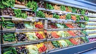 Pick n Pay's 'nude' fruit and vegetable walls offer loose seasonal produce that was previously available only in packaging.  Supplied