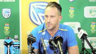 Faf du Plessis has announced that he is stepping down from his role as captain of the Standard Bank Proteas' Test and T20 teams effective immediately. Photo: Samuel Shivambu/BackpagePix