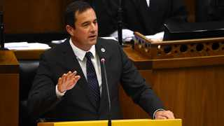 SCATHING: John Steenhuisen