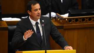 Democratic Alliance leader John Steenhuisen says the National Coronavirus Command Council decision-making to date has resulted in one of the world's longest and most irrational hard lockdown. Picture: Phando Jikelo/African News Agency (ANA)