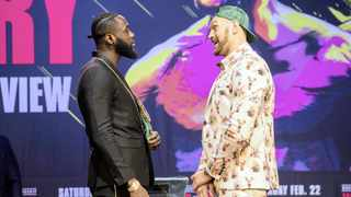 World Boxing Council (WBC) heavyweight champion Deontay Wilder (left) says once he has surpassed the late great Muhammad Ali's record by beating Tyson Fury in their much-anticipated rematch on Saturday, the he will go onto bigger targets. Photo: EPA
