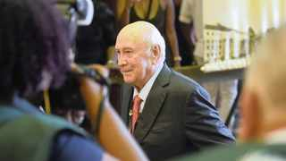 Post-apartheid South Africa continues to suffer from the structural economic and social injustices of the white supremacist government that FW De Klerk was for decades part of, say the writers.  File picture: African News Agency (ANA) Archives