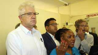 Western Cape Premier Alan Winde and MEC Nomafrench Mbombo File picture: African News Agency (ANA)