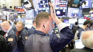 The S&P500, the index of the top 500 US companies, plunged 30% from 3386 points on February 19 to 2377 on Tuesday. Picture: EPA-EFE