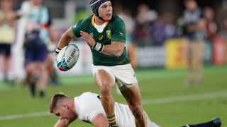 Cheslin Kolbe scored the Springboks second try in the World Cup final against England. Picture: