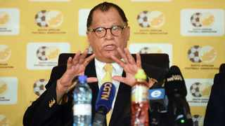 South African Football Association president Danny Jordaan. Picture: Sydney Mahlangu/BackpagePix