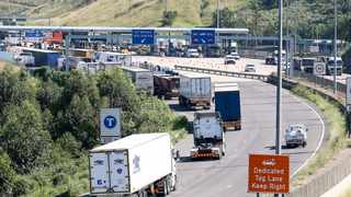 There was a slight increase in traffic volumes passing through the Mariannhill Toll Plaza yesterday, the last day of the seven-day dispensation to travel between provinces, metros and districts.     LEON LESTRADE  African News Agency (ANA)