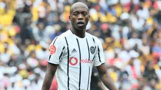 Orlando Pirates midfielder Motshwari tested positive for the coronavirus but it won't affect PSL resumption. Photo: BackpagePix