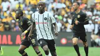 Orlando Pirates midfielder Ben Motshwari has become the first player in SA to test positive for the coronavirus. He has since recovered. Picture: BackpagePix