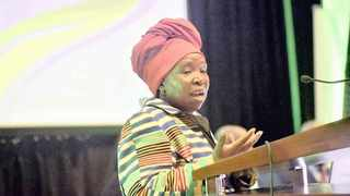 File photo: Minister of Co-operative Governance and Traditional Affairs Nkosazana Dlamini Zuma. Picture: African News Agency (ANA) Archives
