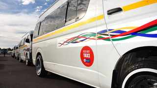The service is called Red Dot because of the sticker on the vehicles, making them easily identifiable for intended passengers. Picture: African News Agency (ANA)