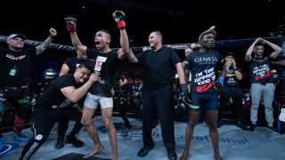 Africa's premier mixed martial arts promotion, the Extreme Fighting Championship has applied for approval to start hosting live professional MMA bouts again, following the worldwide lockdown, all sporting events were brought to a grinding halt due to the Covid-19 pandemic. Photo: EFC WORLDWIDE