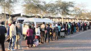 Santaco spokesperson Midday Mali said the taxi strike would be a peaceful one and that there would be no disruption of alternative transport that commuters may opt for. Photo: Jacques Naude/African News Agency (ANA)