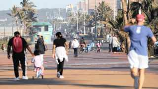 A busy Durban beachfront promenade after the country entered level 3 of the national coronavirus lockdown. Judge Norman Davis's ruling that the lockdown regulations were unconstitutional is appealable for several reasons, the writer says. File picture: Doctor Ngcobo/African News Agency (ANA)