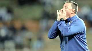 Gavin Hunt will be without a job at the end of the season. Picture: Muzi Ntombela/BackpagePix