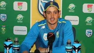 FILE - Proteas wicketkeeper Quinton de Kock. Photo: Wouter Pienaar/BackpagePix