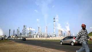 SASOL'S synthetic fuel plant in Secunda has the single largest point-source of C02 emissions on earth.     Reuters
