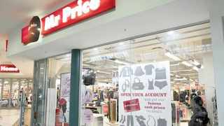 MR PRICE said its sales had plunged 89.1percent at the height of level 5 lockdown, but cash sales increased by 16.7 percent in May and June.     Supplied