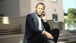 Please Call Me inventor Nkosana Makate. Picture: Timothy Bernard African News Agency (ANA)