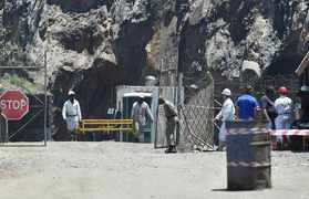 Families of the three victims of the Lily Mine disaster were due to be paid a lump sum of R200 000 - none of their families have seen this money.  Picture: Phill Magakoe