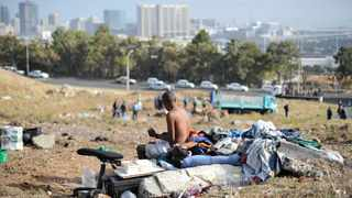According to the Western Cape government's 2019 statistics, there are about 4862 homeless people in the greater Cape Town area. Picture: Henk Kruger/ANA