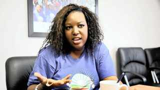 Mbali Ntuli of the DA. Picture: Nqobile Mbonami/African News Agency (ANA)
