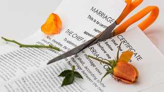 File photo: The researchers said that divorce is linked to those who experience rollercoaster emotions. Picture: Pexels