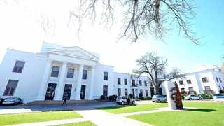 The Stellenbosch municipal building with the adjacent Town Hall building on the left. Picture: Ian Landsberg/African News Agency/ANA